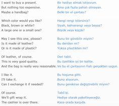 shopping English Talk, English Lessons, Learn English, English Vocabulary, English Grammar, English Language, Turkish Lessons, Learn Turkish Language, English Literature