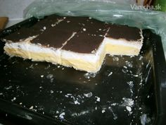 Domáci francúzsky krémeš (fotorecept) Czech Recipes, Russian Recipes, I Love Food, Cheesecake, Sweets, Dining, Cooking, Puddings, Ds