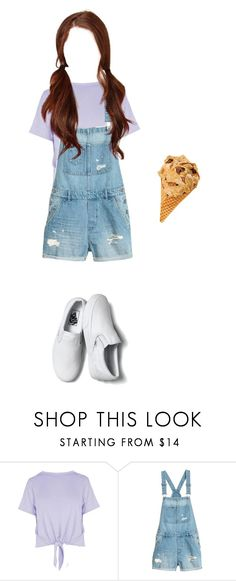 """""""{Eun-Ha} Visiting my sister Kim EunSoo"""" by onesecond-official ❤ liked on Polyvore featuring Boohoo and Vans"""