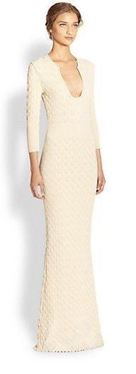 Alexander McQueen  Knit Gown || Saks Fifth Avenue