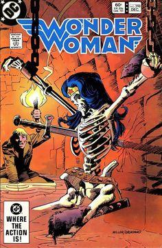 Dc Comics, Star Comics, Dc Comic Books, Comic Book Covers, Paradise Island, Gotham, Frank Miller Art, Crime, Wonder Woman Comic