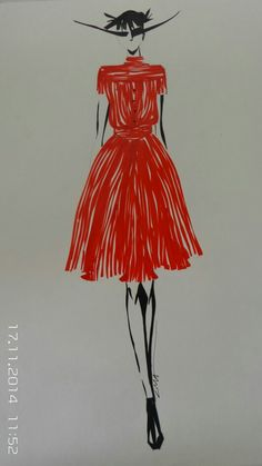 F.shahkoopah's Fashion Students fashion illustration class Tehran-Iran Cima kalantar (CMA )
