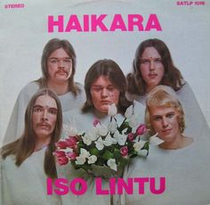 I don't know what Haikara Iso Lintu means, but the one in the middle doesn't want to be there.