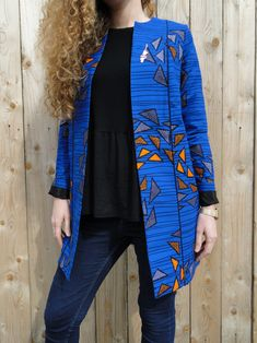 Project The Janis jacket by Louis-Antoinette African Wear Dresses, Latest African Fashion Dresses, African Print Fashion, African Print Dress Designs, Couture Sewing, Trends, Traditional Outfits, Fashion Outfits, Clothes