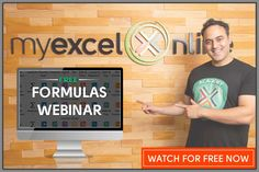 Excel´s EndOfMonth function | MyExcelOnline Microsoft Excel Formulas, Naughty Emoji, Excel Hacks, Pivot Table, Online Training Courses, Tech, Marketing, Helpful Hints, Learning