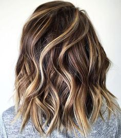 Balayage And Haircolor ❤️ ( Spring Hairstyles, Unique Hairstyles, Easy Medium Hairstyles, Hairstyles Pictures, Hairstyles 2018, Ombré Hair Chatain, Summer Hair Color For Brunettes, Blonde Hair For Brunettes, Brunette Color
