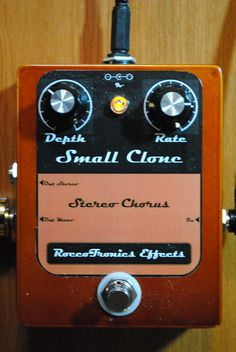 Small Clone Chorus plus Stereo Add-on Board from tonepad