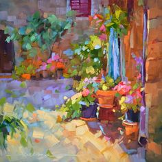 """Dreama Tolle Perry, """"Tuscany in Bloom"""""""