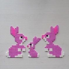Easter bunnies hama beads by leeesselstrom