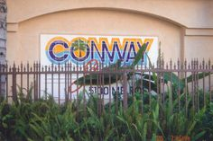 Conway Studios, Hollywood - Where Heatwave (the band my kids are in) recorded their first CD.
