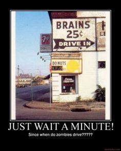 Zombie Drive thru