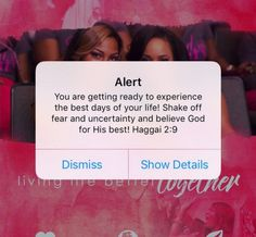 Alert:You are getting ready to experience the best day of your life