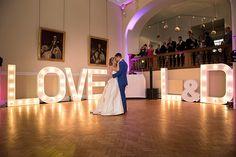 Lauren and David's real life wedding at Farnham Castle | CHWV