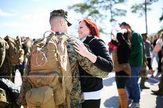 military homecoming photographer jacksonville nc camp lejeune nc rachel smith photography