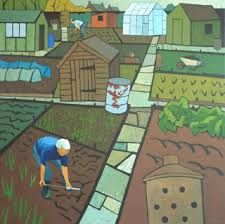allotment paintings - Google Search