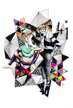 Mixed media 4 by sofia sousa