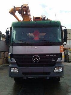 Mercedes Benz Actros 4150K 8x8 V8 Italia , Anno di immatricolazione: 2007 - pompa per Calcestruzzo usati in vendita - Mascus Italia
