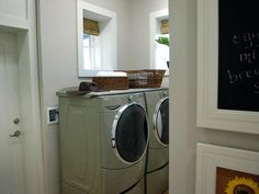 Laundry Room In the 2009 HGTV Green Home