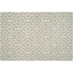 Check out this item at One Kings Lane! Leon Rug, Gray/Ivory