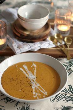 Rote-Linsen-Kokos-Suppe mit Süßkartoffel: Mein Seelenwärmer für kalte Tage