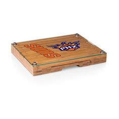 Phoenix Suns Cutting Board & Tray and Cheese Tools Set w/Laser Engraving