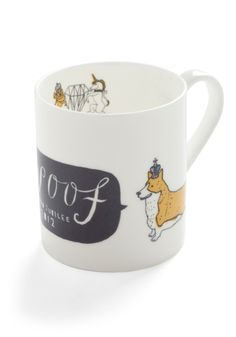 Long Live the Corgi Mug | Mod Retro Vintage Kitchen | ModCloth.com