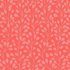 Tissu Suffolk Garden designer anglais - Dashwood Studio - Brie Harrison - Fougères en rose