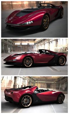 Pininfarina, a beautiful and extremely rare limited edition.