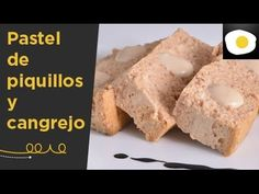 Pastel de piquillos y cangrejo - YouTube