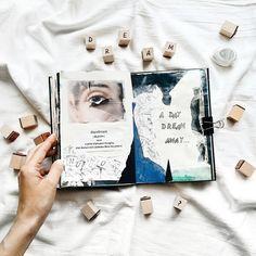 @sashazeen   Season of Dreams   Get Messy Art Journal