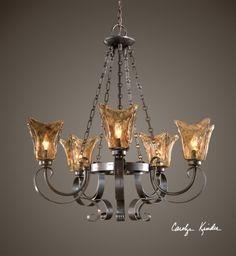 Uttermost - 21007 - Vetraio 5 Light Chandelier   Lamps.com