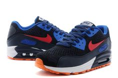 best loved d3afd ffc4f Nike Air Max Womens Nike Air Max Womens Air Max 90 Premium EM Skor Dam Nike  Air Max 90 2015 Kvinnor Skor Dark Bla Orange Ny 02