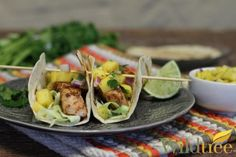 Wildtree's Cajun Fish Tacos Recipe--find more recipes & shop online at http://www.mywildtree.com/melanierobinson