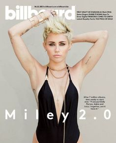 Miley Cyrus - Billboard Magazine Cover [United States] (22 June 2013)