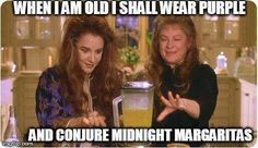 After combining the ingredients for a batch of Midnight Margaritas, the Aunts use their magic to turn the blender on. Practical Magic Movie, Practical Magic Quotes, Book Practical, Pokerface, Cinema, Thats The Way, Jrr Tolkien, The Conjuring, Movie Quotes