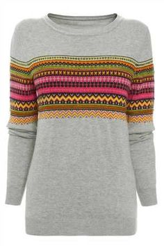 Next fairisle print sweater. Fairisle jumpers for ALL the family!