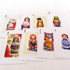 Matryoshka Playing Cards
