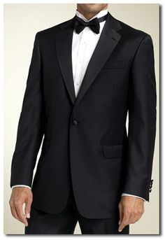A classic tuxedo that will look stunning with my traditional dress.