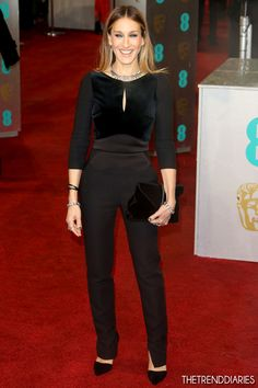 Sarah Jessica Parker at The 2013 EE British Academy Film Awards (BAFTAs) held at the Royal Opera House in London, England - February 10, 2013