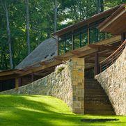 Vermont Lake House - rustic - Exterior - Burlington - TruexCullins Architecture + Interior Design