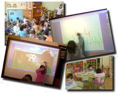 las TIC trabajando contenidos matemáticos en la etapa de Ed. Infantil