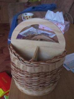 Na vařečky,příbory košík z petigu