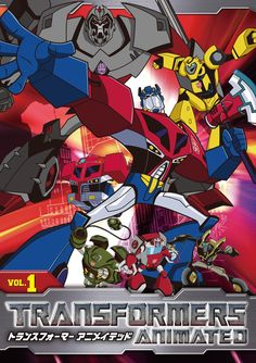 Transformers Animated (Japanese) Vol. 1 DVD