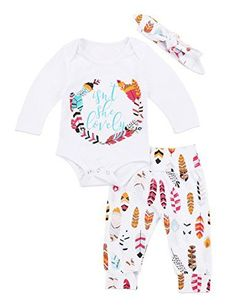 8e3bd587ac7 Newborn Baby Girls Floral Heart Peach Print Romper Long P... https