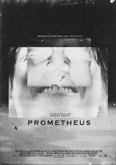 "Amazing fan-made ""Prometheus"" Film Prints"