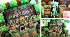 Southern Blue Celebrations: MINECRAFT PARTY IDEAS & INSPIRATIONS