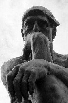 Le Penseur (The Thinker) by Auguste Rodin