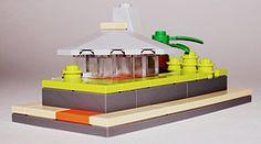 Island House in LEGO // 2