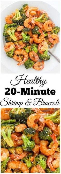 This healthy meal is ready to eat in just 20 minutes and is exploding with delicious flavor. Plump shrimp and crunchy broccoli are cooked in a delicious sriracha soy sauce. A quick and easy meal you're sure to love! Ingredients For the brown sauce: 4 tablespoons low-sodium soy sauce 1 tablespoon orange juice (fresh, preferably) 1 1/2 tablespoons sriracha hot sauce 1 tablespoon light brown sugar 1 tablespoon ginger, grated (you may also use bottled ginger if you cannot find fresh) 5...
