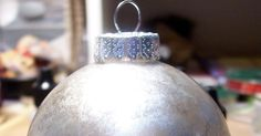 The Glittered Santa Ornaments inspired me to play around with some round clear glass bulbs that I've had in the stash for much too long. I...